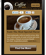 Mobile Site Example 4