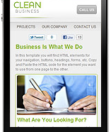 Mobile Site Example 6